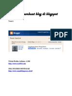 Langkah-langkah Membuat Blog