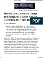 ÓTIMA - Martial Law, Detention Camps and Kangaroo Courts_ Are We Recreating the Third Reich