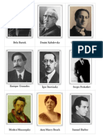 Composer Cards Facts