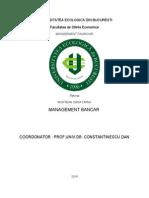 Referat Optimizarea Raportului Risc Performanta Pe Categorii de Operatiuni Bancare