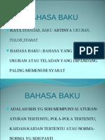 Bahasa Indonesia Baku-ppt