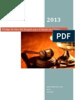 Código de Ética Del Abogado Para El Estado de Colima