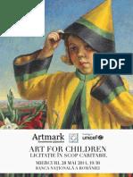 Catalog Art for Children Licitatie Caritabila Artmark 2014