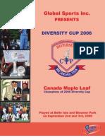 Diversity Cup 2006 Magazine