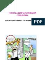 Farmacia Clinica in Farmacia Comunitara