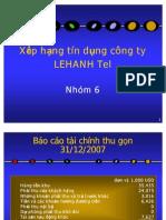 39037525 Phan Tich Bao Cao Tai Chinh LEHANH
