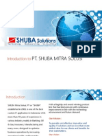 Introduction to SHUBA Solutions