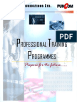 Professional Training Programmes