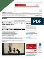Papeis de Militares Expõem Atuação Da Fiesp No Golpe de 64-01-06_2014 - Poder - Folha de S