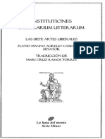 Institutiones Saecularum Litterarum-Casiodorus