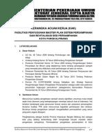 Kak Fasilitasi Penyusunan Master Plan Sistem Persampahan Dan Revitalisasi Ded Persampahan Kota Pangkalpinang