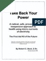 Take Back Your Power - Robert Beck