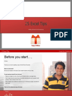25 Excel Tips Holiday Gift Chandoo.org