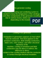 turbo generator cooling system