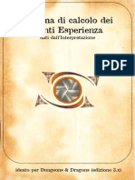 Sistema Punti esperienza D&D