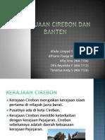 Kerajaan Cirebon Dan Banten