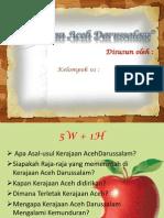 Presentasi Sejarah Kerajaan Aceh