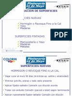 Preparac de Sup - Patologias 2009