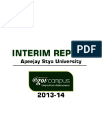 Apeejay Stya University Interim Report