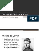 Termodinâmica Aplicada - Parte III