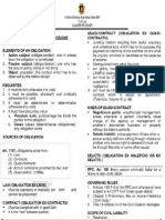 Obligations and Contract Reviewer