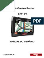 Manual Guia Quatro Rodas 5.0''TV