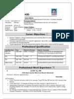 CV arshad