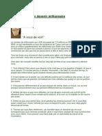 Dix Conseils Pour Devenir Millionnaire