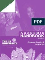 Academic Hand Book 2014