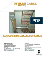 Handling & Installation of Cables