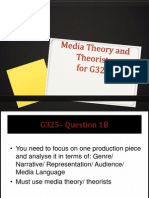 Theorists and Theories for unit G325