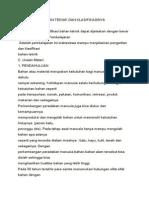 Pengertian Bahan Teknik Dan Klasifikasinya