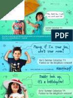 Nauti Nati Kid's online retail ads