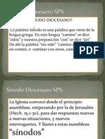 Presentación Sínodo Diocesano
