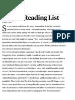 A Syria Reading List