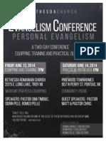 Betezda Evangelism Conference 2014