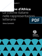 S. Camillotti 2014 - Cartoline d'Africa. Le colonie italiane nella rappresentazione letteraria