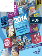 2014 International Mini Guide to Coventry University