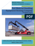 Port Material Handling Equipment Renting