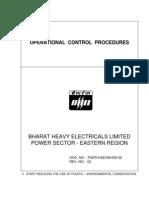 Operational Control Procedures Bhel
