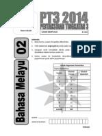 2014 PT3 Bahasa Melayu