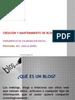 Creacion y Mantenimiento de Blogs