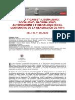 Programa Curso Ortega UCM