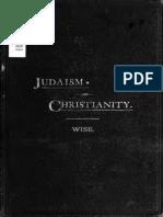 WISE, Isaac (1883) JudaismAndChristianity
