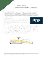 Laboratorio - Desprendimiento de La Capa Limite en Perfiles Aerodinámicos