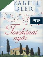 Elizabeth Adler Toszkánai nyár