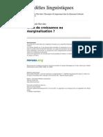 Ml 416 3 Crise de Croissance Ou Marginalisation