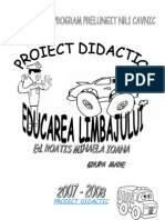 Pro i Ect Didactic Ed Limb