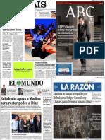 Noticias prensa española