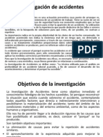 S 8 - Investigación de Accidentes